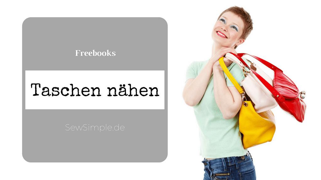 Freebooks Taschen nähen
