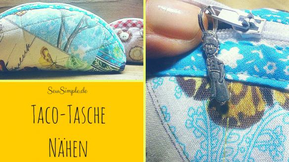 Taco-Tasche nähen - SewSimple.de