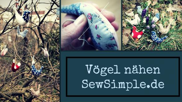 Vögel nähen - SewSimple.de