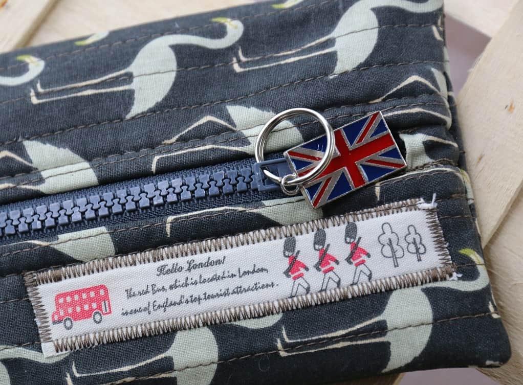 Tasche mit Reißverschluss nähen - Detail - SewSimple.de