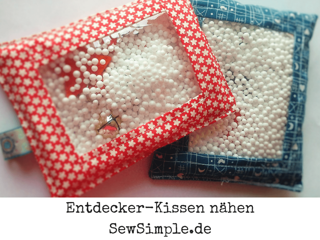 Entdecker-Kissen nähen - SewSimple.de