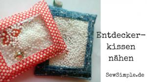 Entdecker-Kissen - SewSimple.de