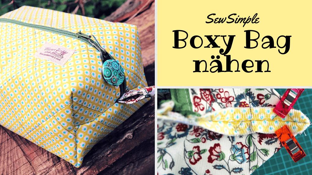 Taschen selber nähen: 5 einfache Taschen-Schnittmuster für Anfänger ...