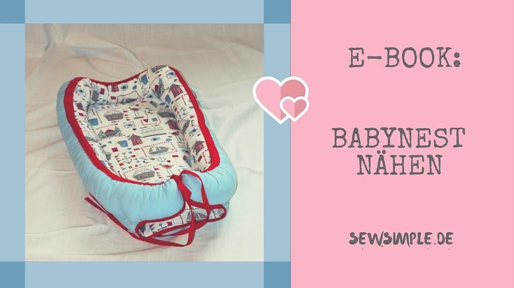 E-Book: Babynest nähen - SewSimple.de