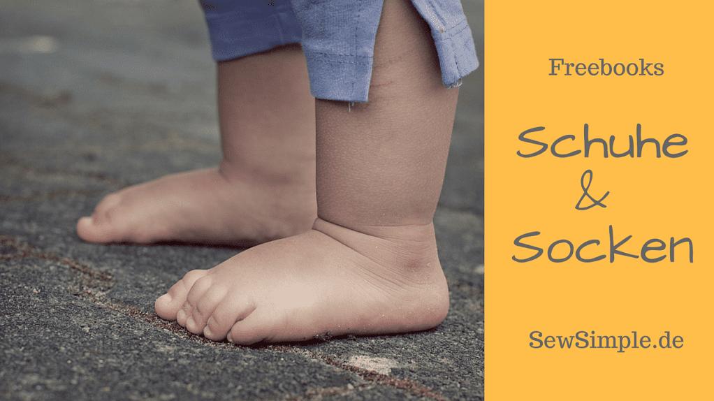 Freebooks: Schuhe und Socken | SewSimple