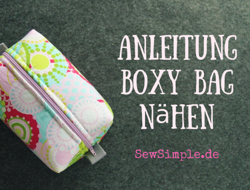 Video-Anleitung: Boxy Bag - SewSimple.de