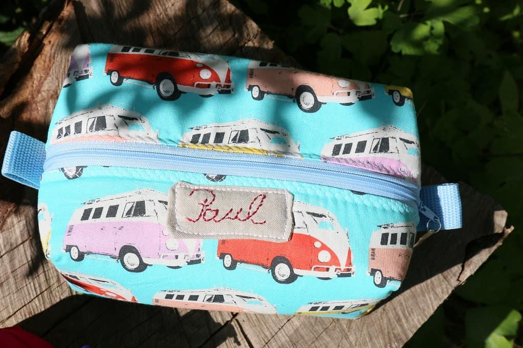 Boxy Bag mit Label - SewSimple.de