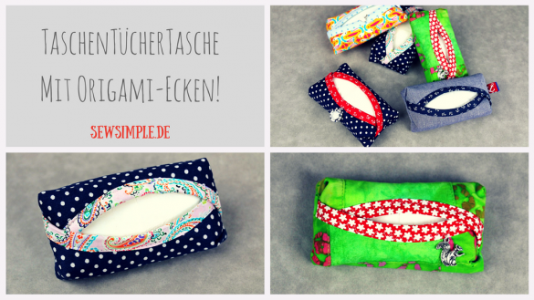 TaTüTa mit Origami-Ecken - SewSimple.de