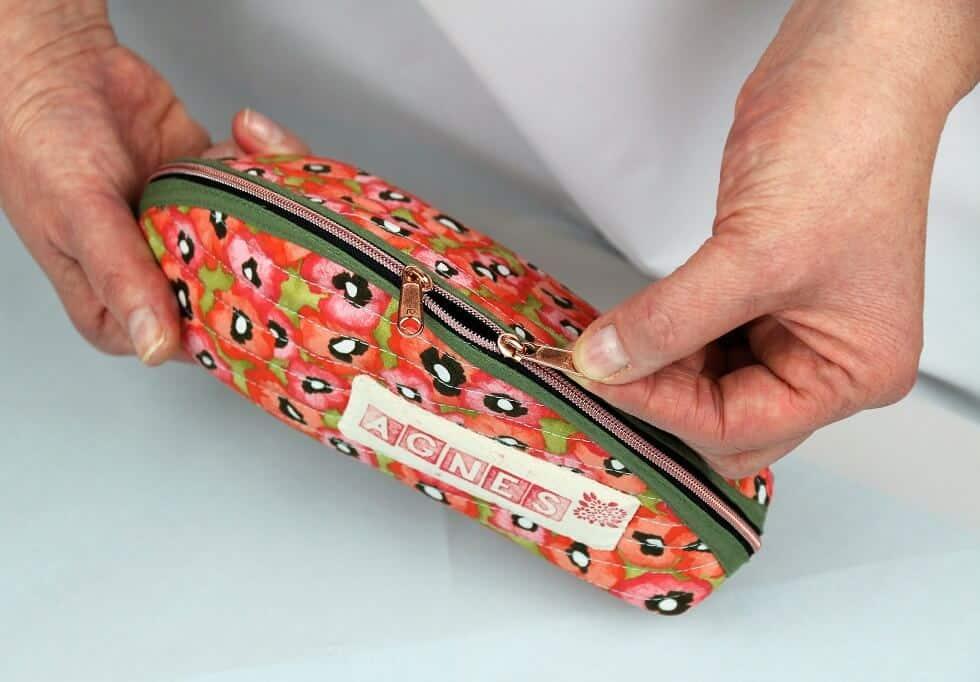 Taco-Tasche mit 2-Wege-Zipper