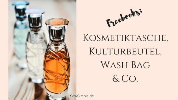 Freebooks Kosmetiktaschen und Kulturbeutel