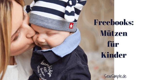 Freebooks Mützen für Kinder