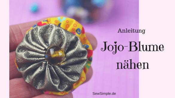 Jojo-Blume nähen