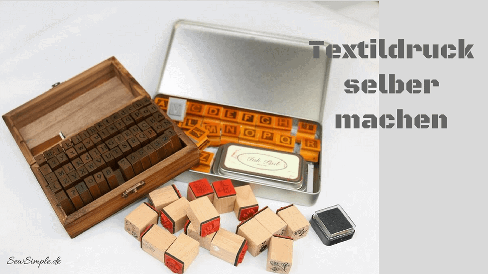 Textildruck selber machen | Textilstempel