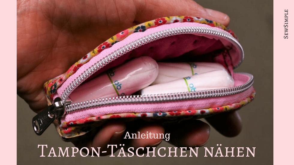 Tampon-Täschchen nähen