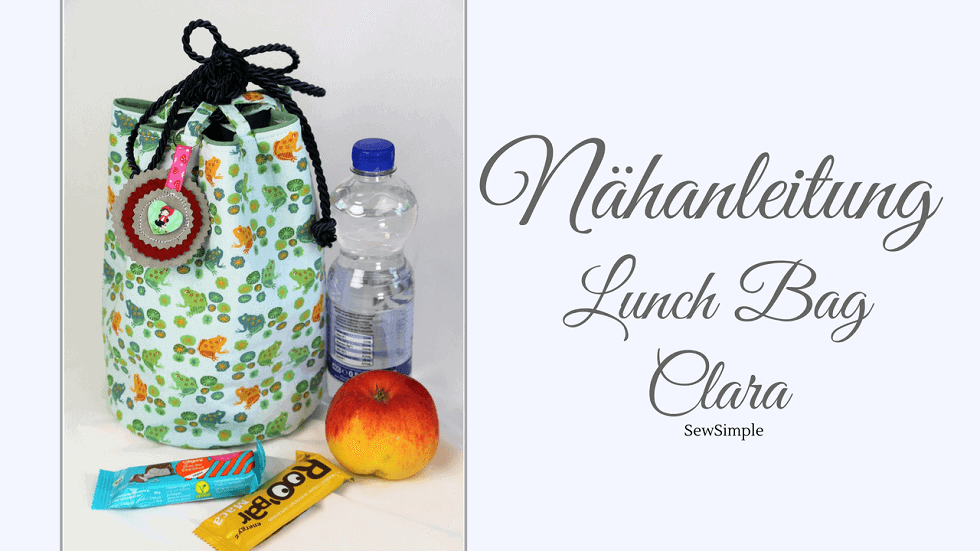 Nähanleitung Lunch Bag Clara