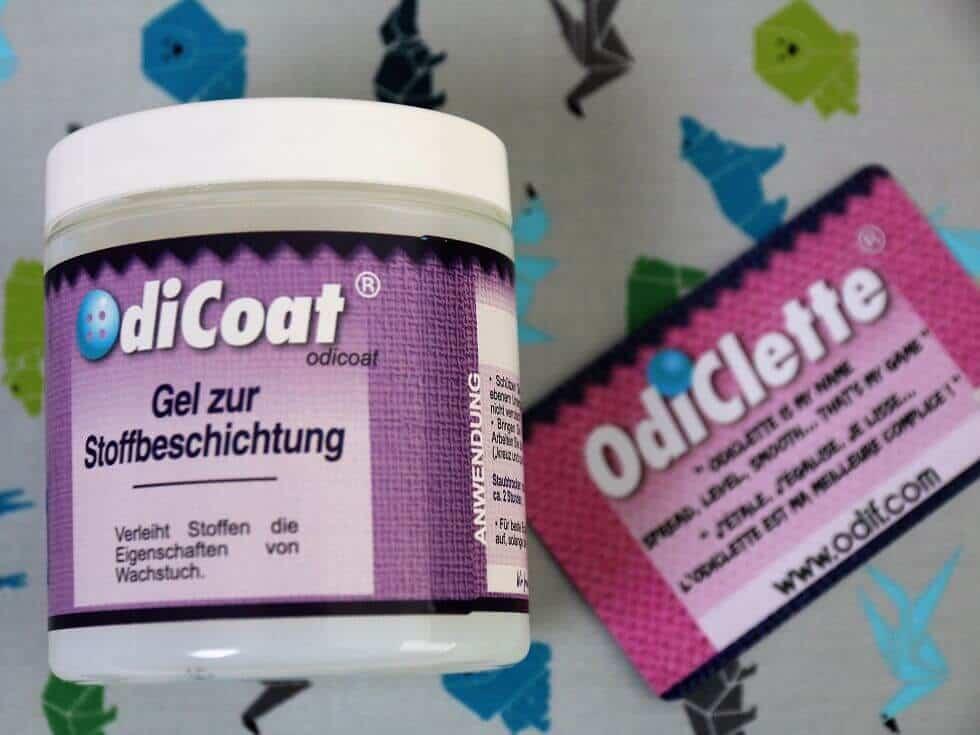 Stoff beschichten mit Odicoat
