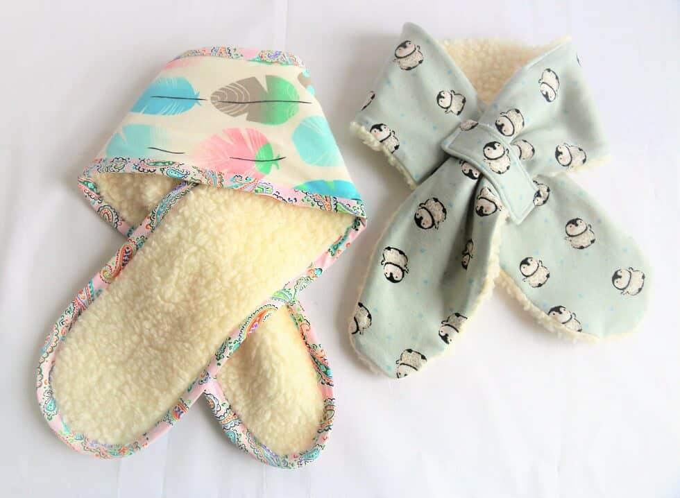 Schal für Kinder nähen