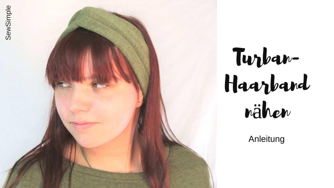 Turban-Haarband nähen
