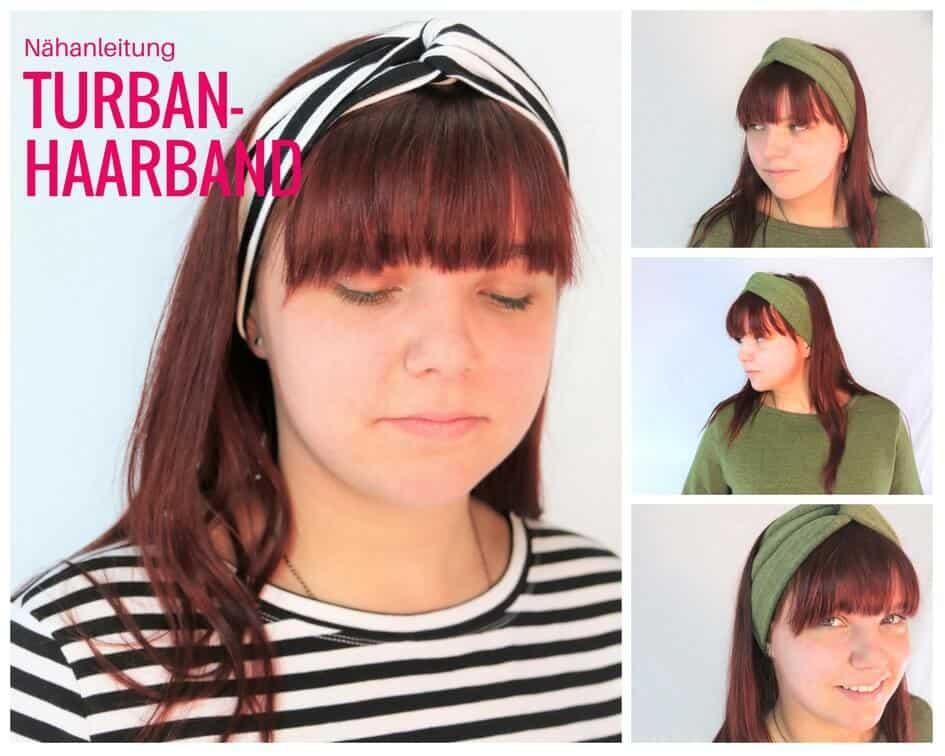 Anleitung: Turban-Haarband nähen | Jersey-Reste nähen | SewSimple