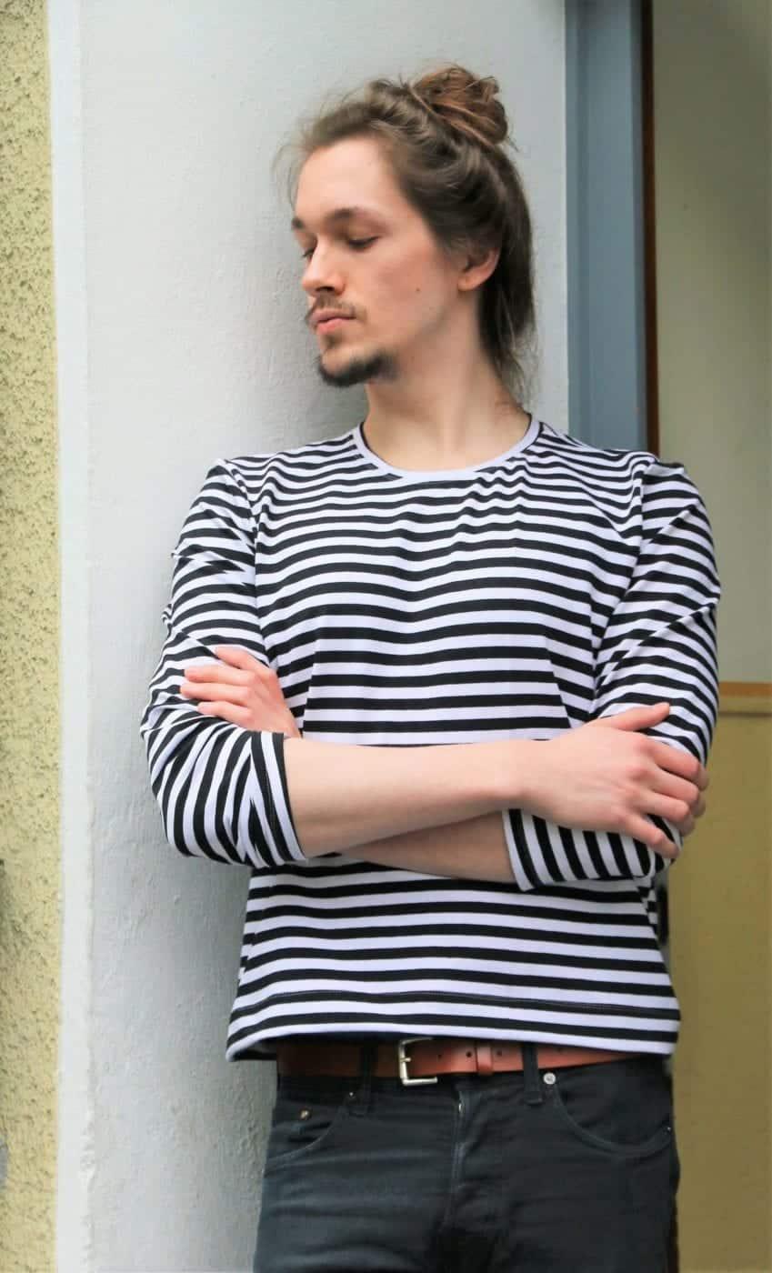 Männershirt nähen