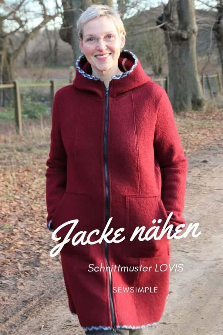 Jacke nähen