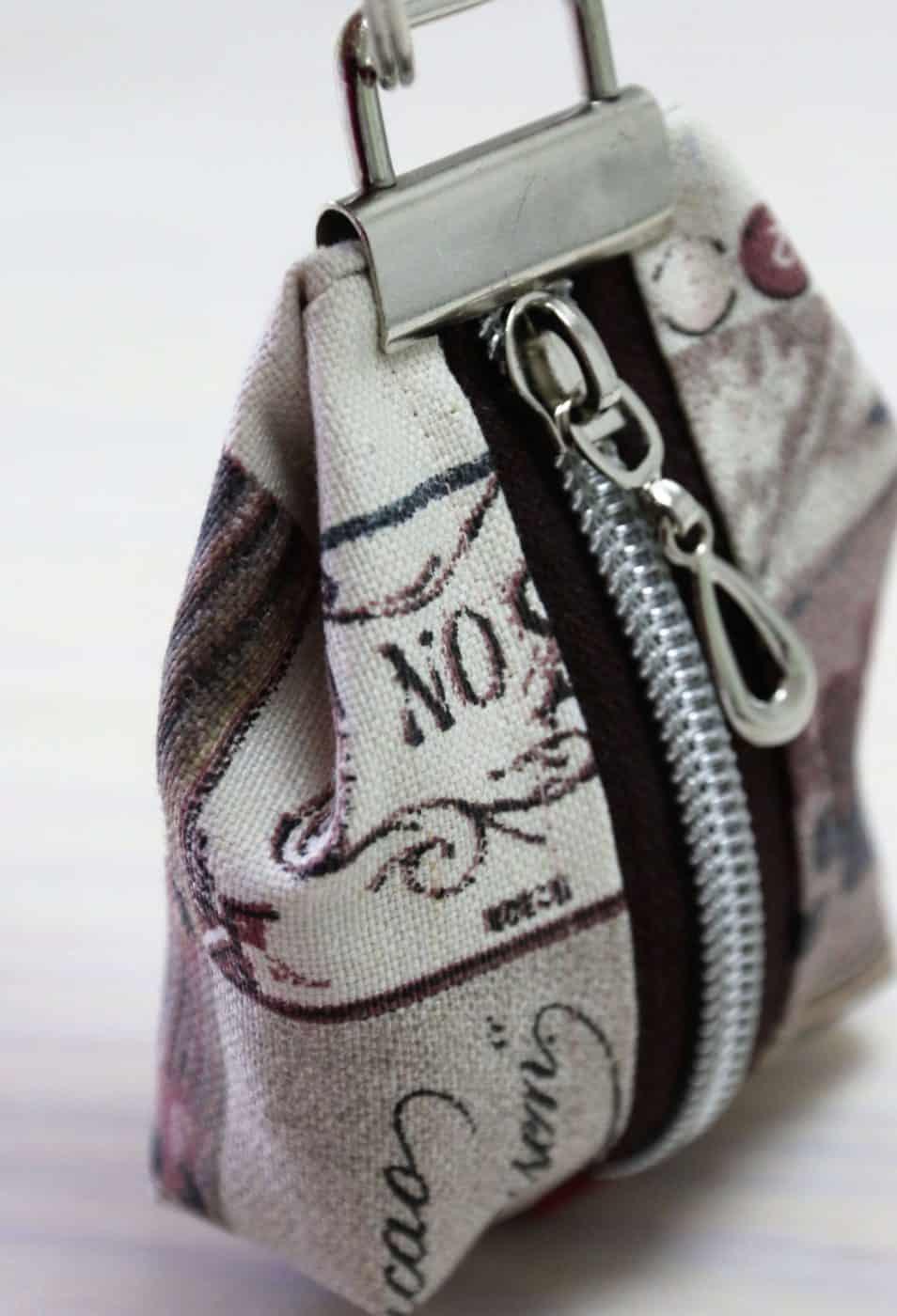 Mini Geldbörse nähen
