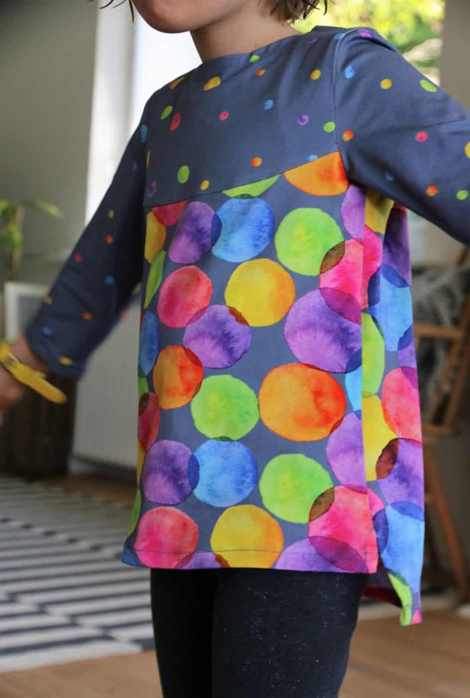 Bluse für Kinder aus Jersey nähen
