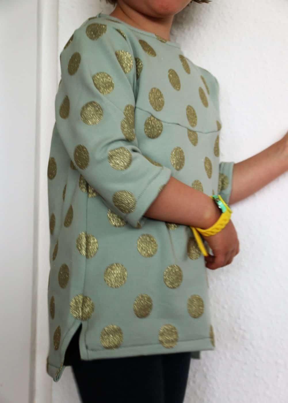 Mädchen-Bluse nähen
