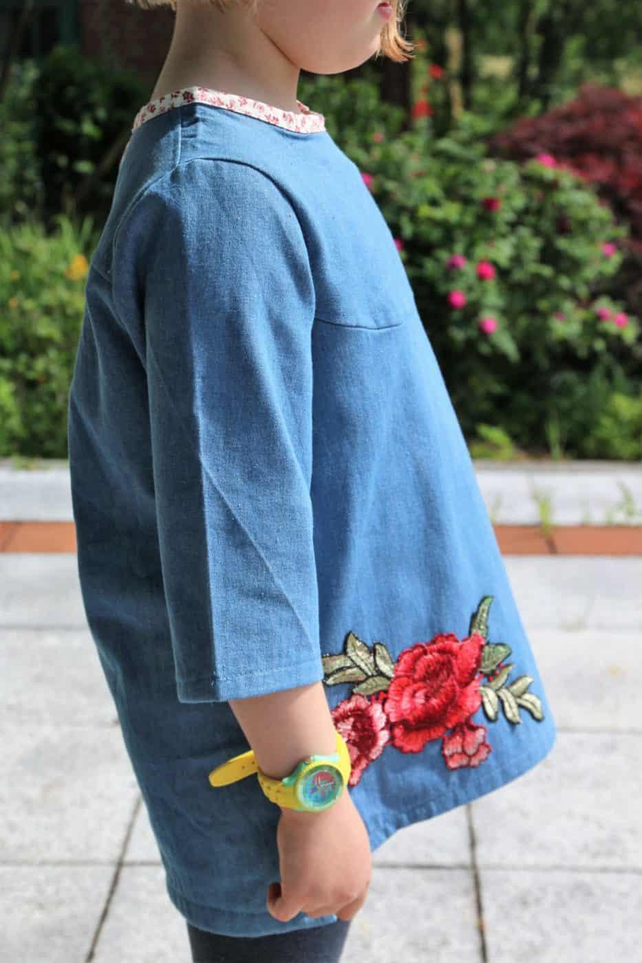 Mädchen Bluse nähen