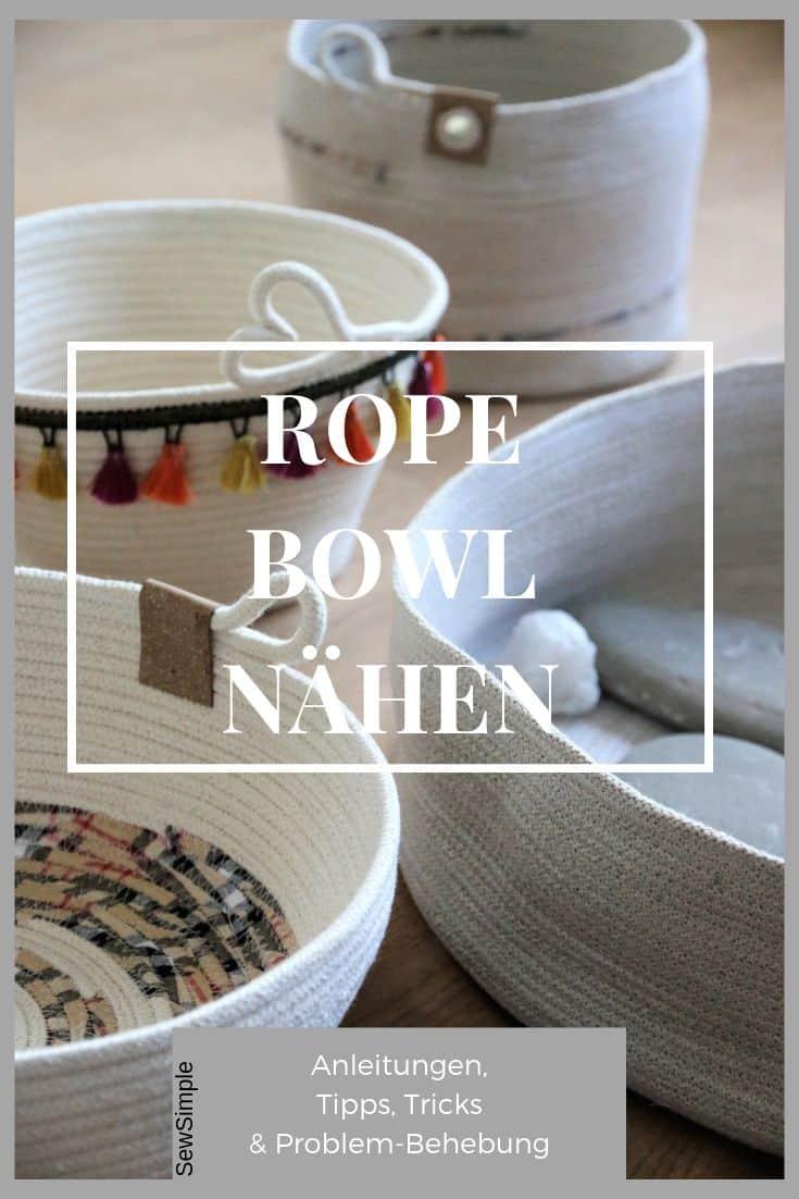 Rope Bowl nähen