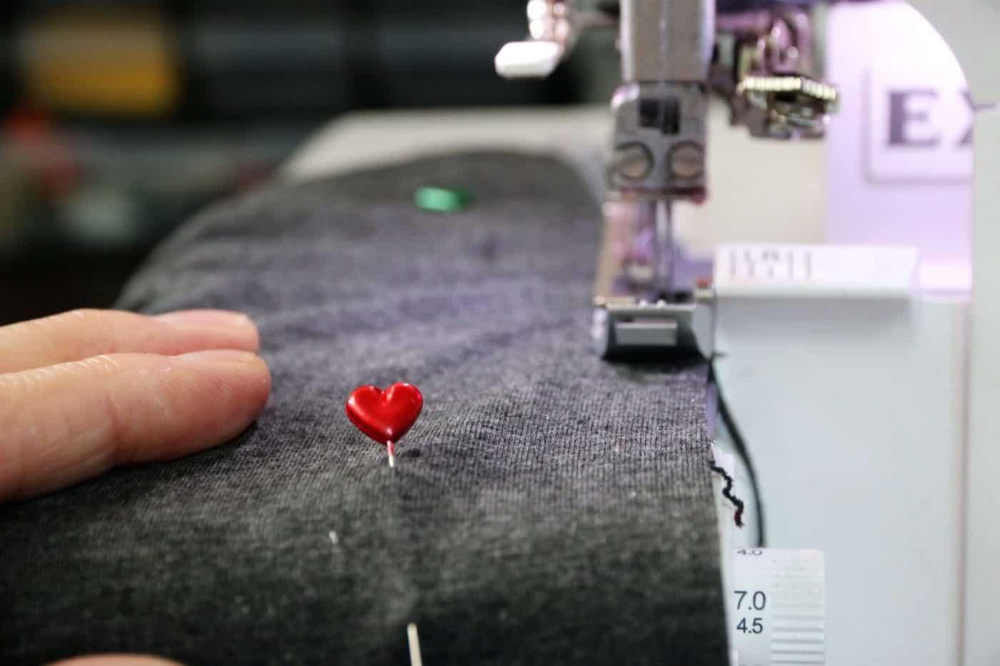 Einkaufsnetz aus T-Shirt nähen