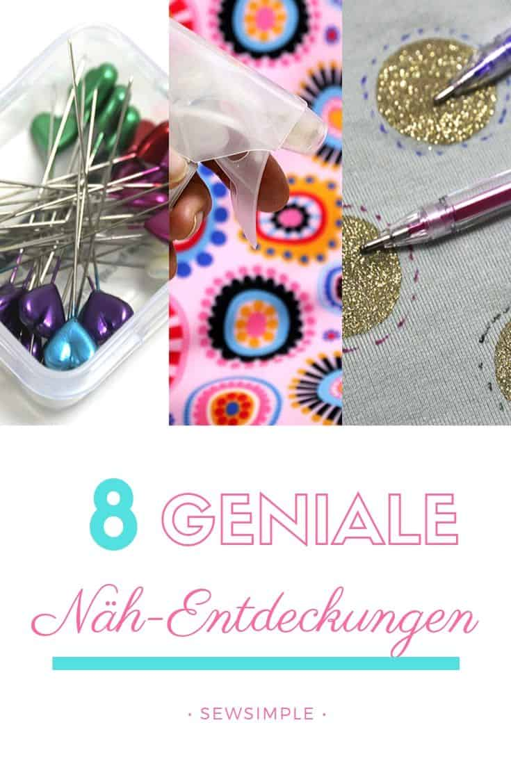 8 geniale Näh-Tipps & Hacks