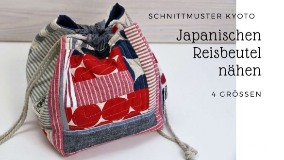 Japanischen Reisbeutel nähen