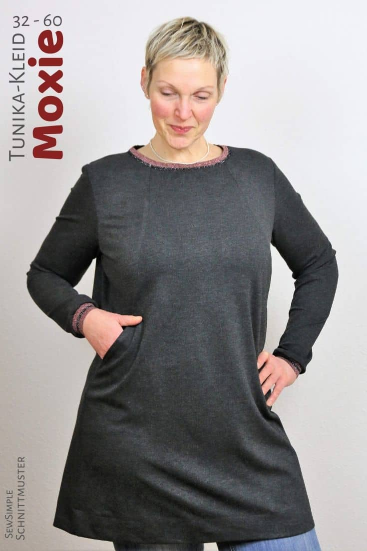 Schnittmuster Tunika-Kleid