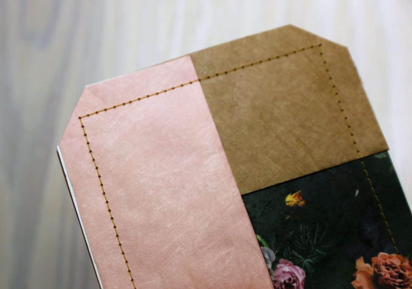 Taschentüchertasche aus Tyvek nähen