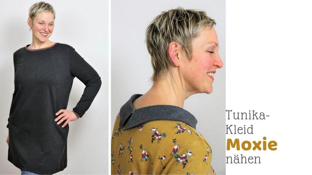 Tunika-Kleid für große Größen nähen