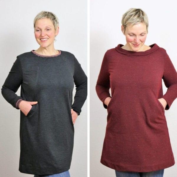 Tunika Kleid Schnittmuster Moxie