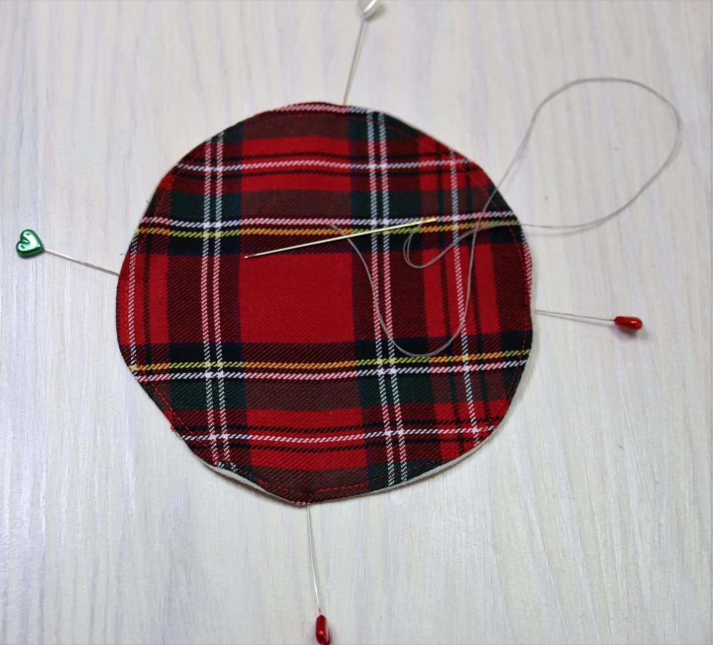 Deko für Weihnachten nähen
