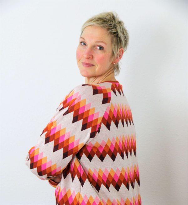 Schnittmuster Oversize Raglan-Sweater