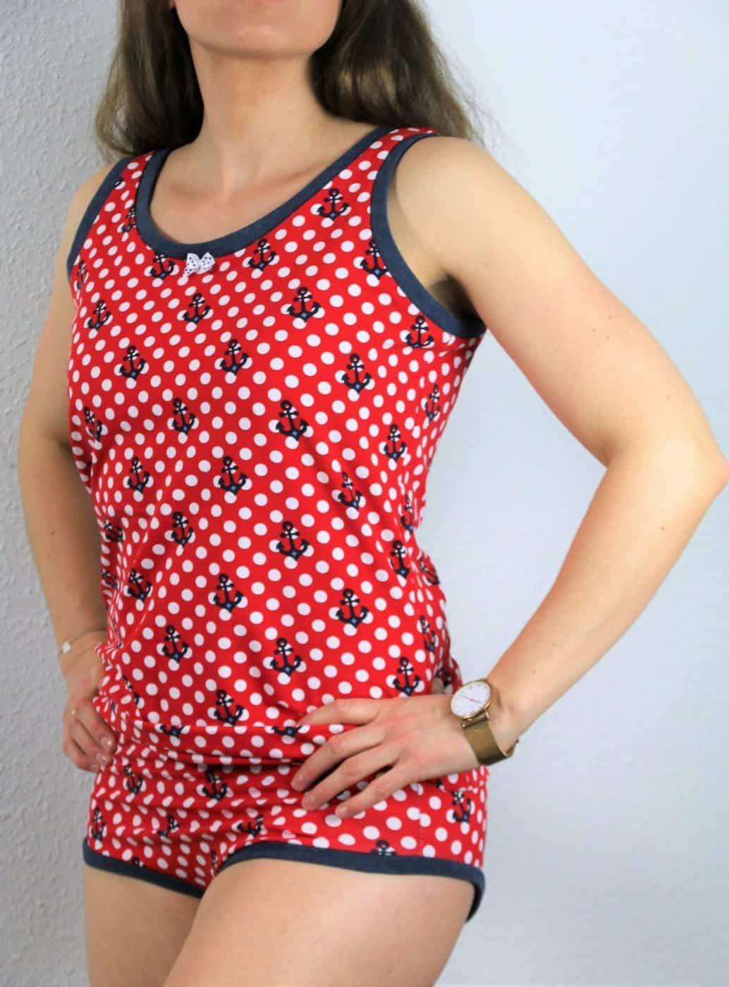 Schnittmuster: Damen-Unterhemd