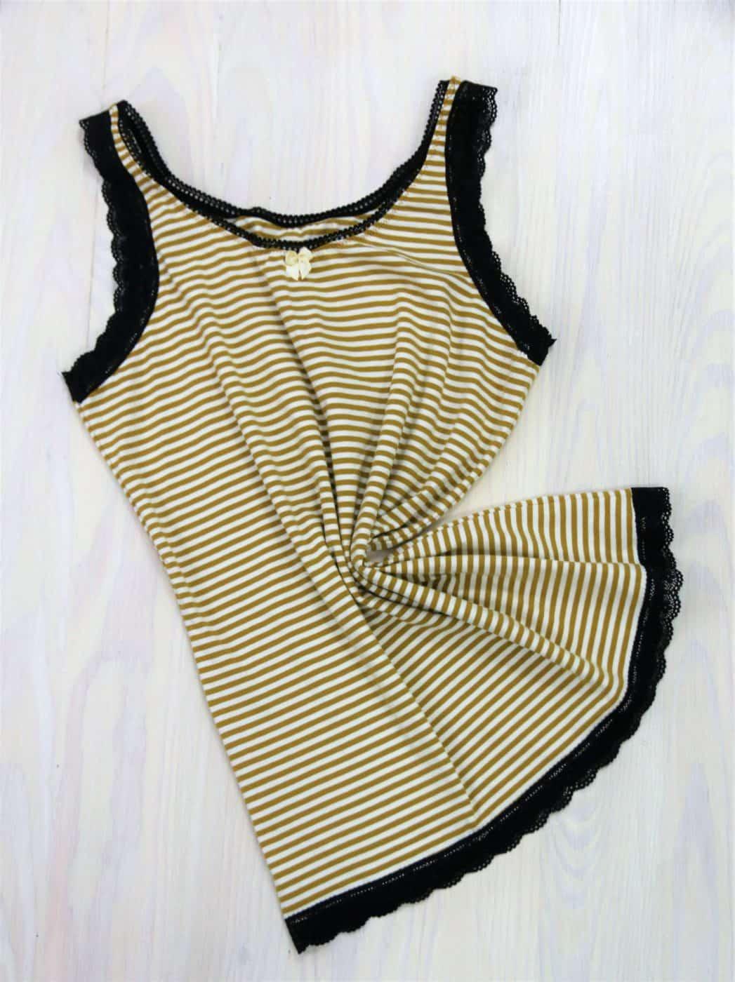 Damen-Unterhemd nähen