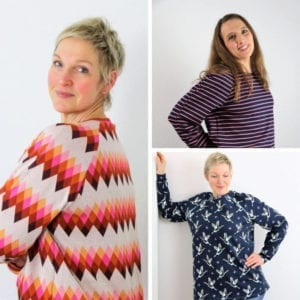 Oversize Sweater Schnittmuster raglan