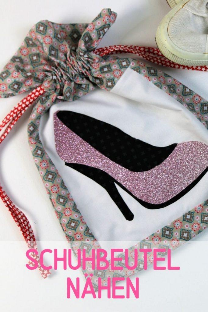 Schuhbeutel nähen