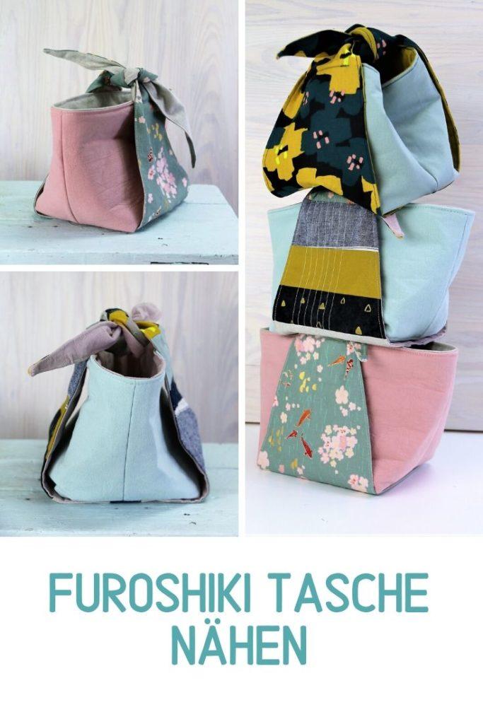 Furoshiki-Tasche nähen