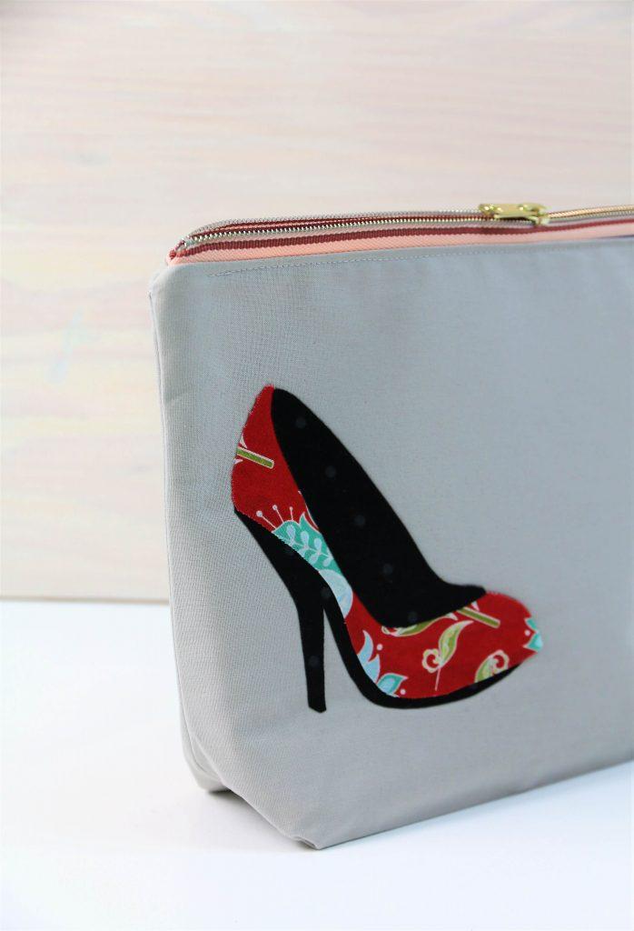 Tasche mit Schuh-Applikation nähen