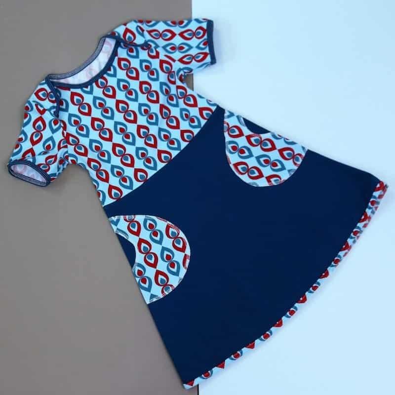 Kleid kostenloses 128 schnittmuster Kostenlose Schnittmuster