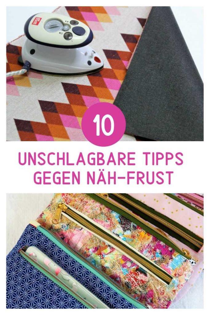10 unschlagbare Tipps gegen Näh-Frust