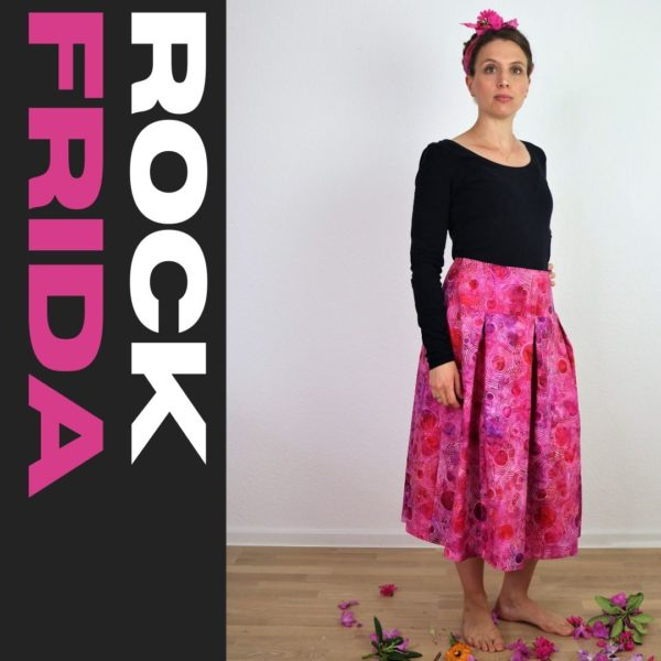 Schnittmuster Rock Frida