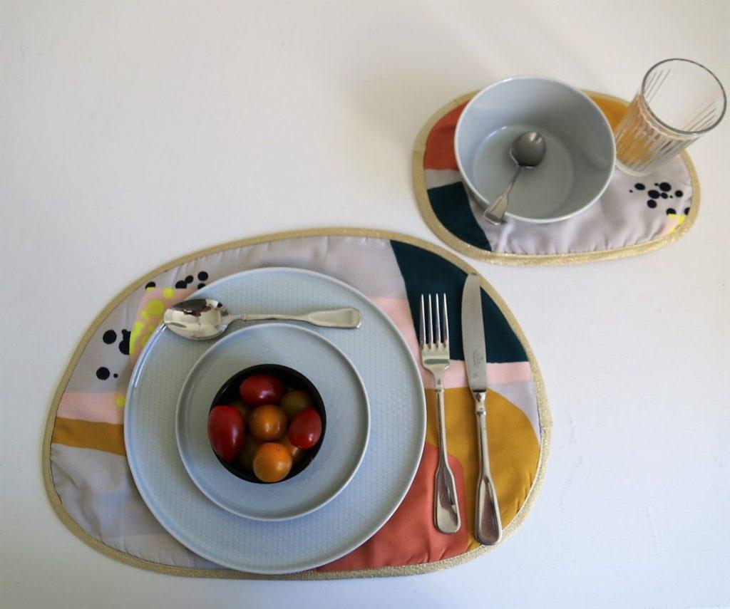 Tischset nähen