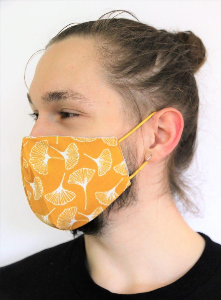 Leichte Maske nähen